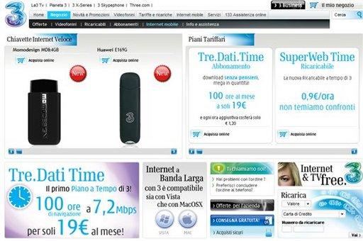 100 h de connexions en clé 3G à 7.2 Mbps pour 19 Euros par mois