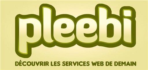 Pleebi - Annuaire de services et applications Web 2.0