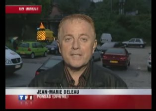 [humour] Pour les innondations, TF1 a un envoyé très spécial, Jean Marie Deleau