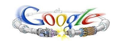 Google et le Grand Collisionneur de Hadrons