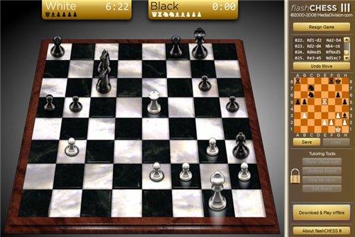Flashchess3 - Un jeu d'échec en flash ou sous Adobe Air