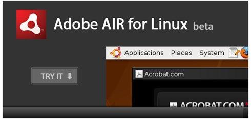 Adobe AIR maintenant disponible pour Linux