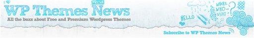 WP Themes News - un agrégateur de themes pour Wordpress