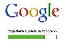 Mise à jour du PageRank de Google pour ce week end ?