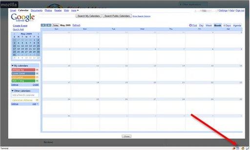 GCal Popup - Google Calendar en 1 clic depuis Firefox [ génial ]
