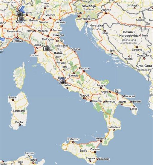 Google Street View en Italie