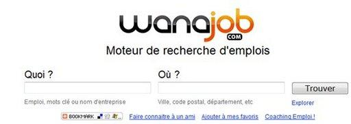 Wanajob - le Google de l'emploi