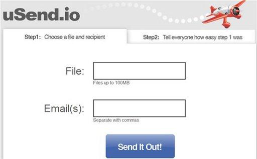uSend.io - Stockage et partage en ligne gratuit et illimité