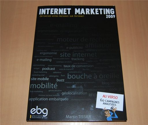 Internet Marketing 2009 - 10 Euros de remise sur le livre