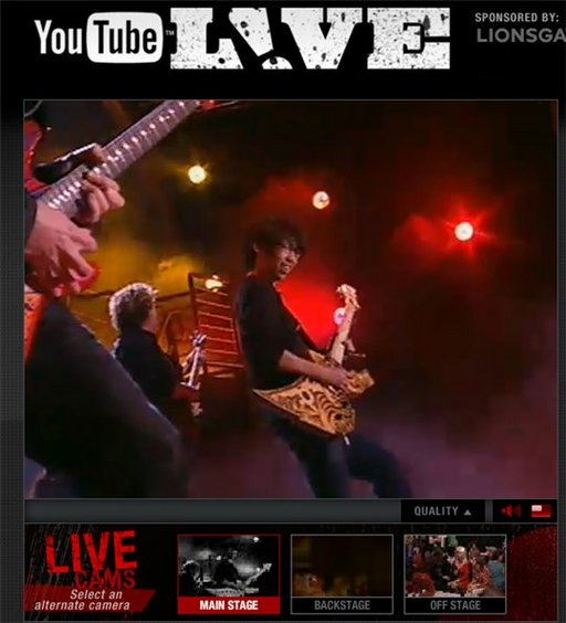 Youtube Live - Tout simplement GEANT