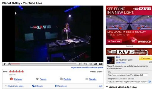 Youtube adopte le format 16:9