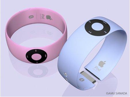 iPod Shuffle Bracelet - un concept qui ferait un beau cadeau