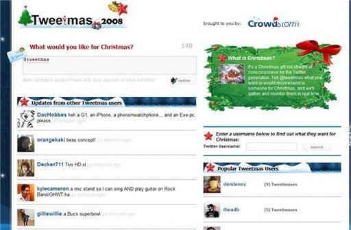 Tweetmas 2008 - Que voulez vous pour Noël ?