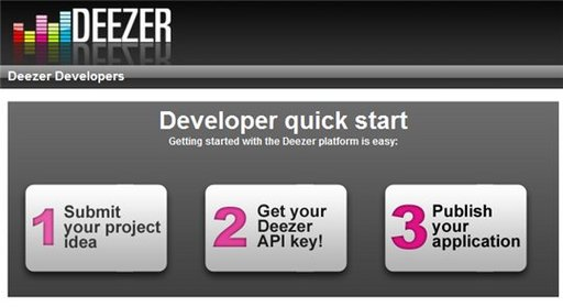 Deezer lance son API