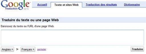 Google simplifie Google Traduction