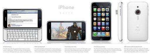 Un concept d'iPhone assez interessant