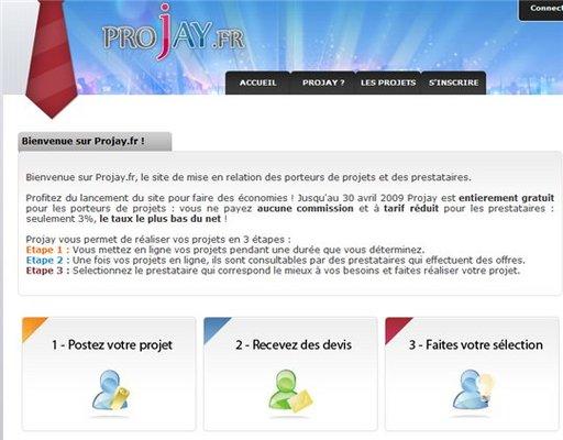 ProJay - mise en relation de porteurs de projets et de prestataires