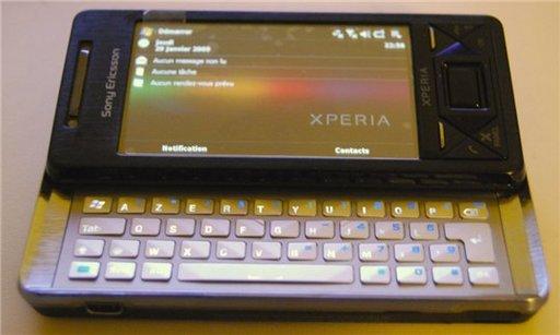 Le Sony Ericsson Xperia est vraiment un bel appareil