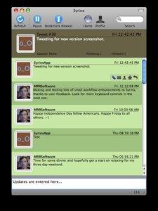 [spécial MAC] Syrinx - un client Twitter