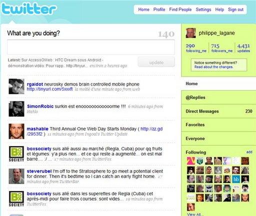 La nouvelle Home Page de Twitter est plutôt ratée