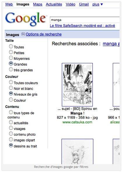 Google améliore la recherche d'image