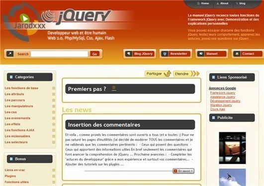[coup de pouce] jQuery - Documentation, astuces et tutoriels en français