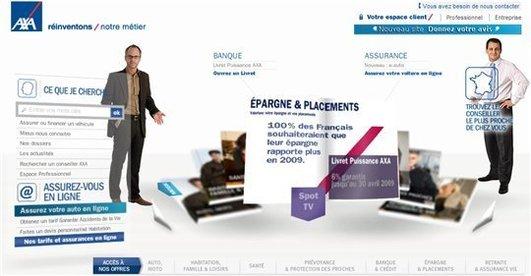 [Sponso] AXA se rapproche de ses clients avec un nouveau site
