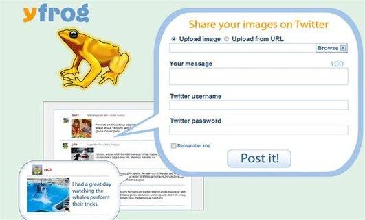yFrog - Partage d'images sur Twitter
