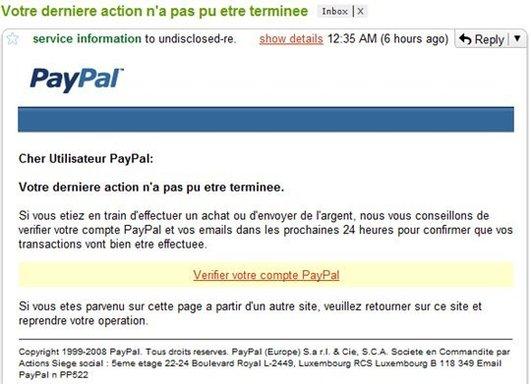 Quand le spam passe à travers des filtres Anti - Spam