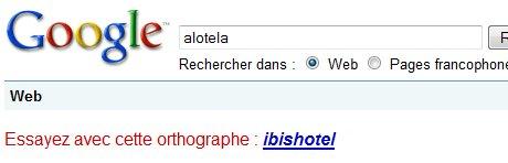 Google est parfois très drôle