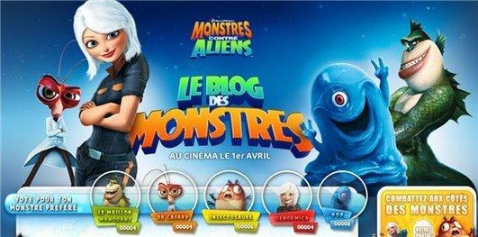 Le Blog des Monstres - en voilà une approche sympathique par mail :)
