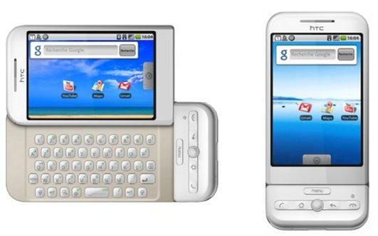 Le HTC G1 Android ou HTC Dream chez Orange le 12 mars 2009 [officiel]