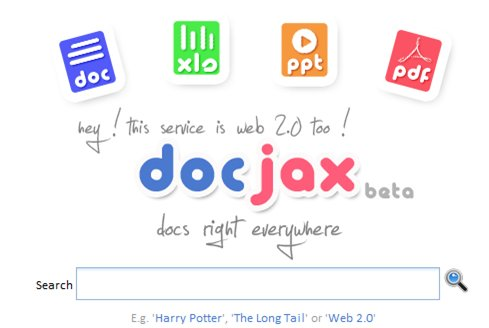 DocJax - moteur de recherche de documents