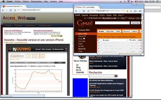 Google Chrome pour MAC - Premiers tests