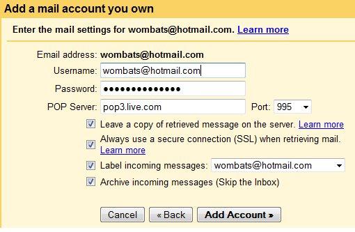Importer vos mails Hotmail sur Gmail
