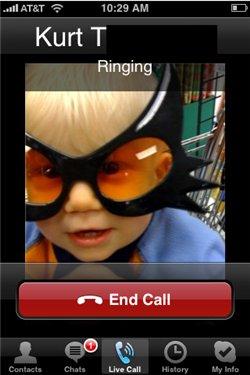 Skype pour iPhone - c'est officiel