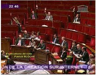 La loi Hadopi a été votée