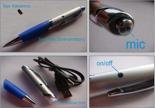 Spy Pen - Le stylo GSM anti-sèche pour étudiants Geek :)
