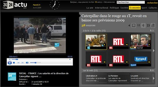 2424actu - Le site d'actualités d'Orange ( 15 invitations )