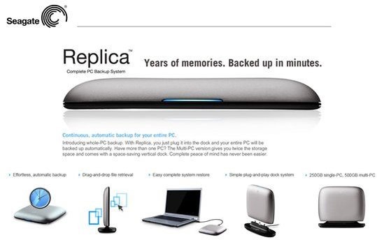 Segate Replica - Le Time Capsule pour Windows