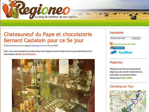 Regioneo - Le meilleur de nos régions