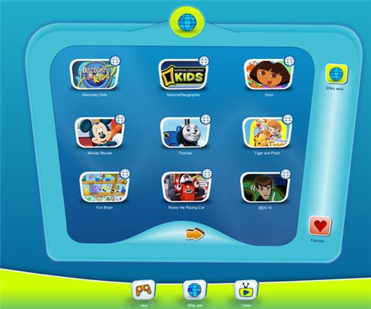 Kido'z - Navigateur pour enfant en français