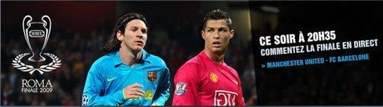 Manchester United vs FC Barcelone en live sur TF1 et Facebook