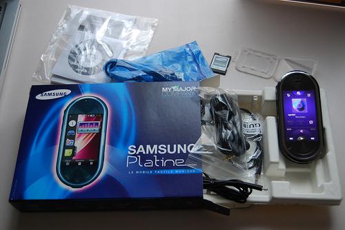 Samsung et AccessOWeb vous offre le Samsung Platine