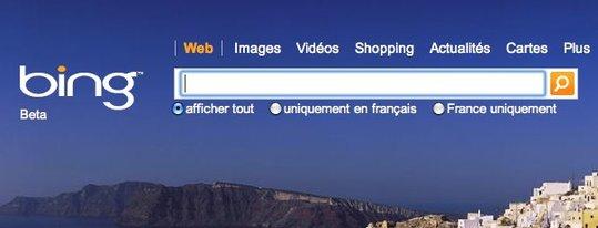 Bing de Microsoft - Sur le Web et sur Mobile