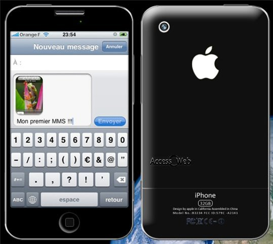 iphone 3gs le nouvel iphone 2009. Black Bedroom Furniture Sets. Home Design Ideas