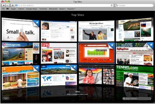 Safari 4 - 11 Millions de téléchargements en 3 jours