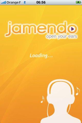 Jamendo maintenant sur iPhone et iPod Touch