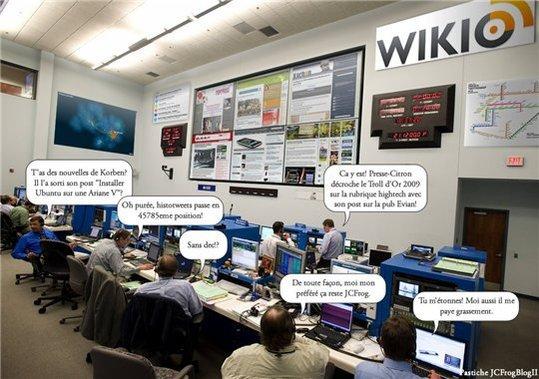 Et pendant ce temps là; chez Wikio ...