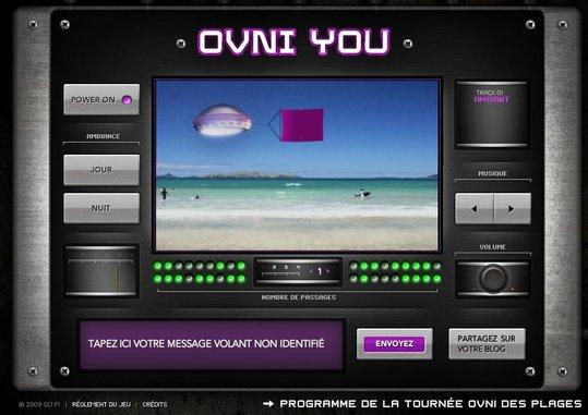La Chaine Sci Fi nous envoie des OVNI sur les plages